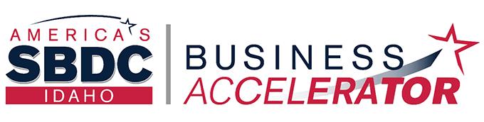 Idaho SBDC Business Accelerator logo